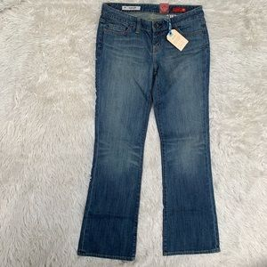 NWT EXPRESS X2 LOW RISE DISTRESSED JEANS